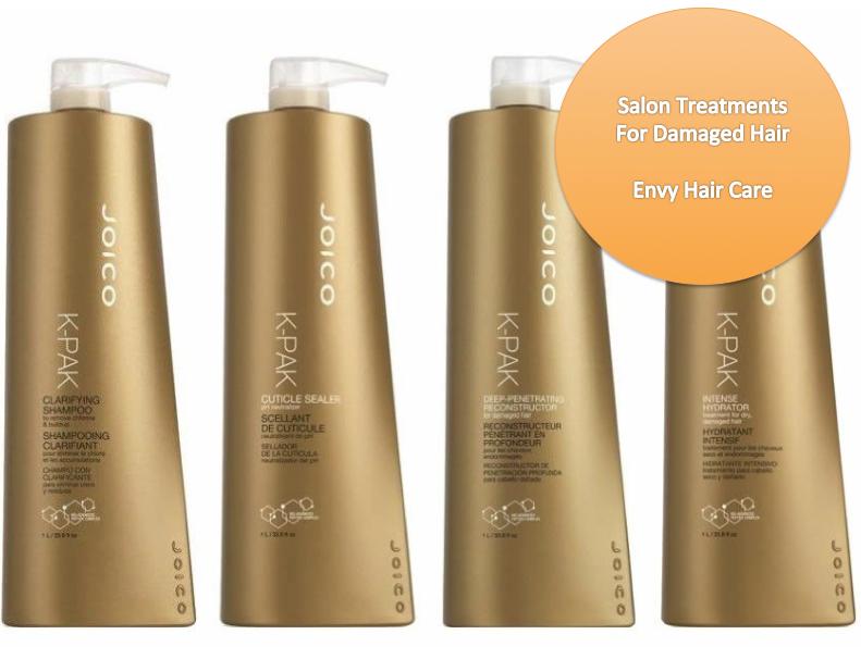 Salon Treatments For Damaged Hair Envy Care