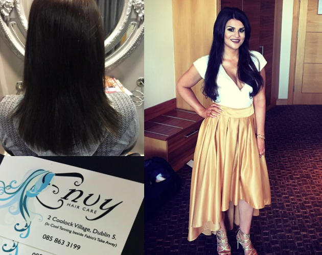Mini Locks Hair Extensions with Envy Hair Care