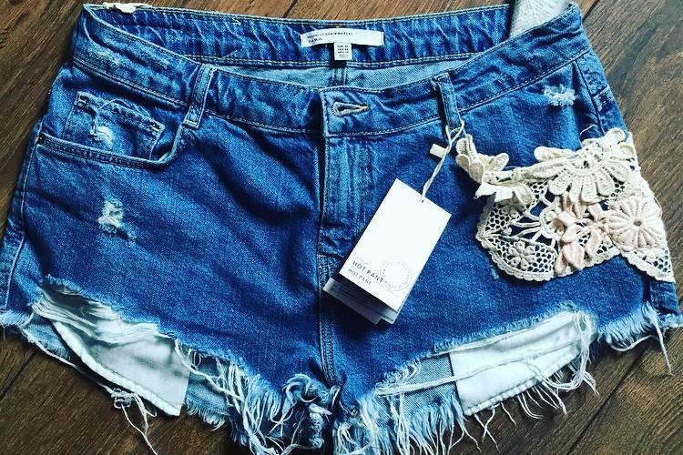 ZARA Denim Shorts Shopping Haul
