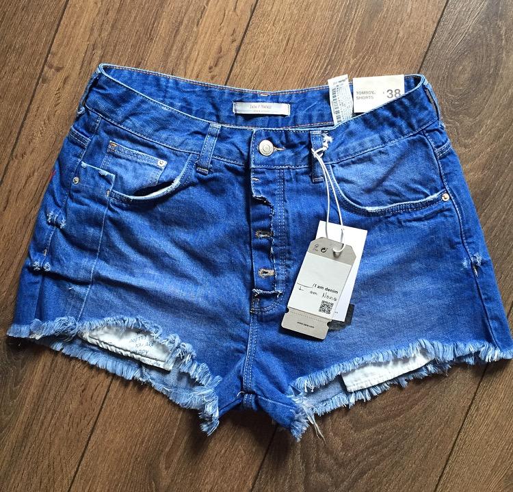 moitié prix Achat/Vente acheter pas cher Vêtements Femme Jean Zara Pour Short lJTFKc5u31