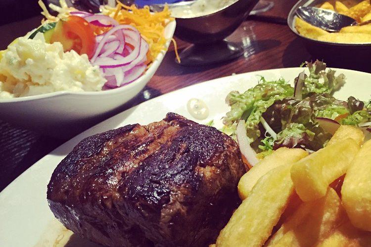 A Classic Steak from The Monasterboice Inn, Drogheda